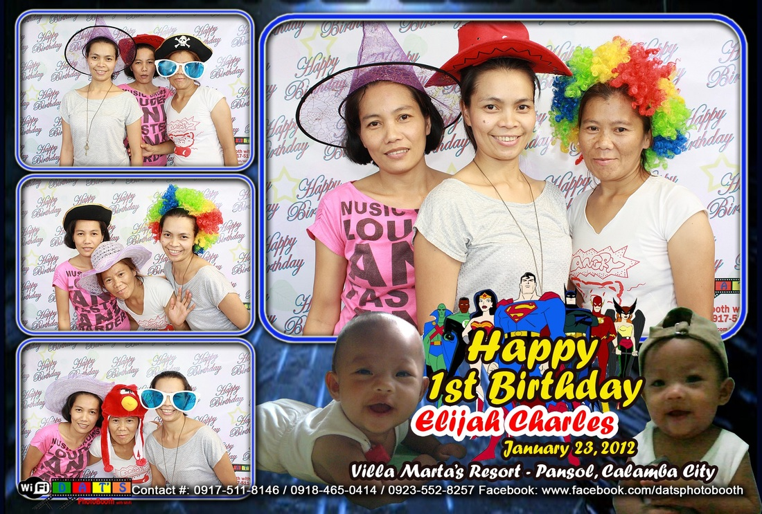 Elijah Charles - January 23, 2012 - Dat's Photobooth with Wi-Fi (Batangas City, Tanauan, Malvar